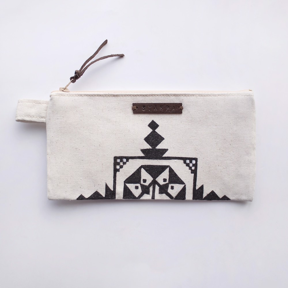 Picture of Embroidery Zipper Pouch