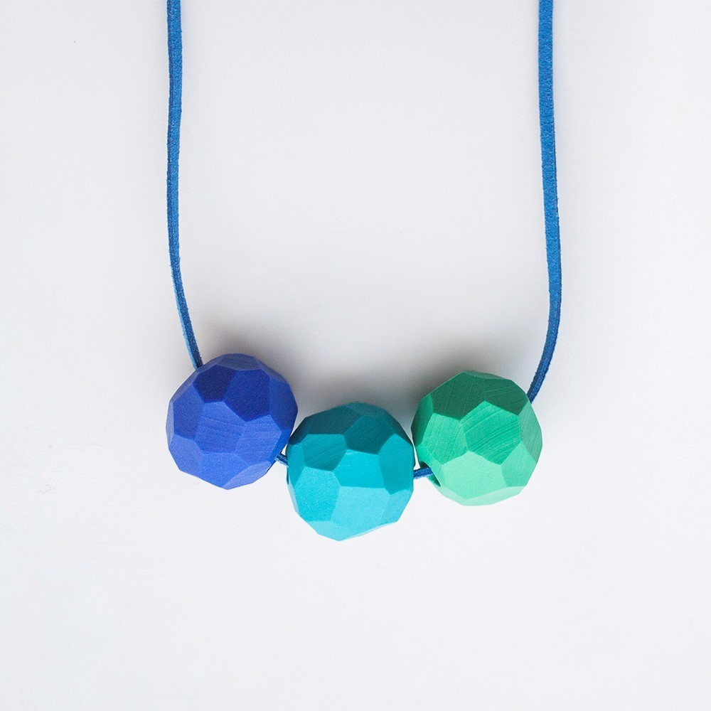 Picture of Peacock Necklace 'Builder'