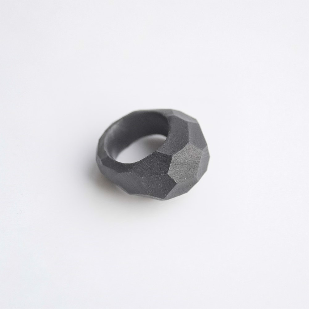 Picture of Graphite Ring 'Stones'