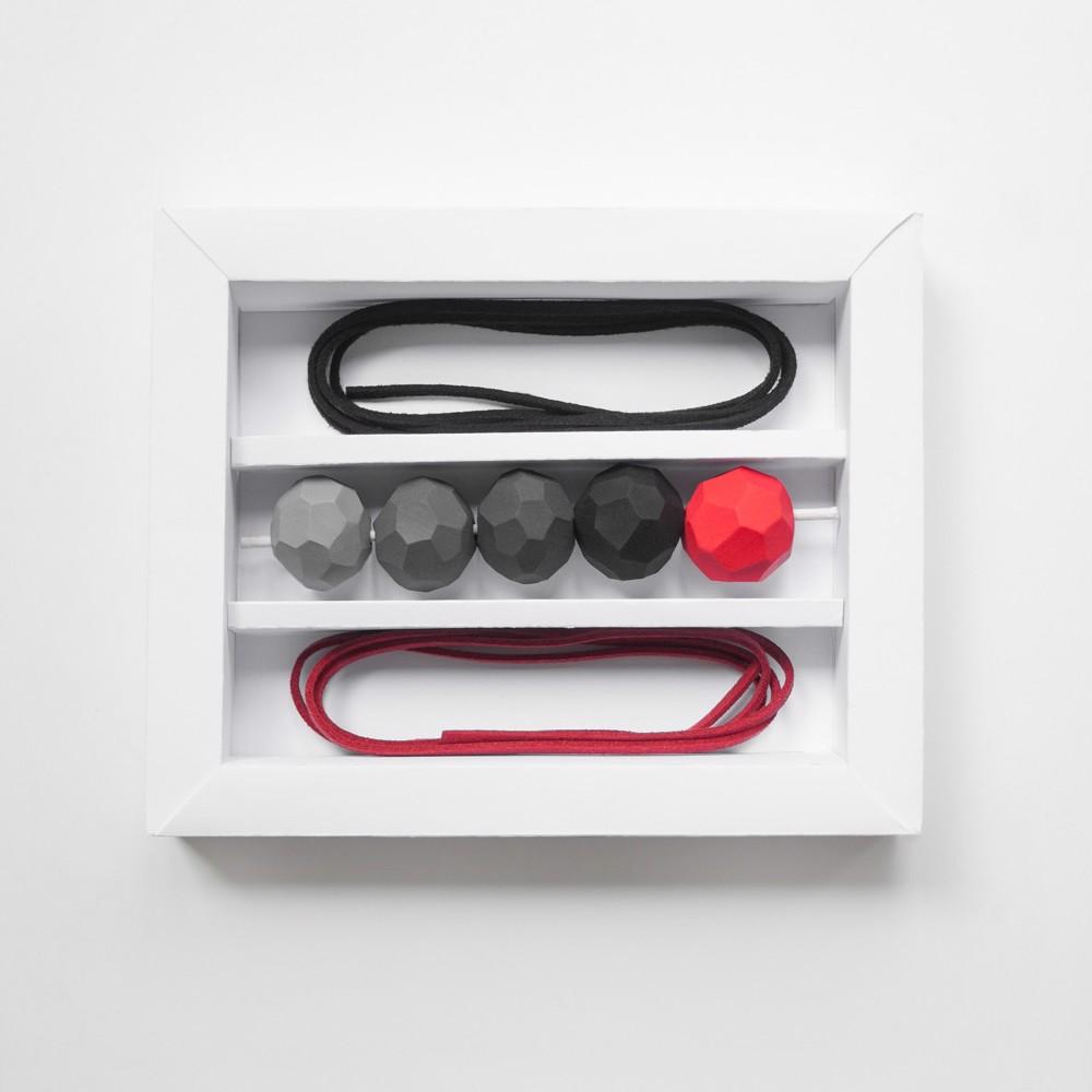 Picture of Monochrome Strawberry Flavor Set 'Builder'