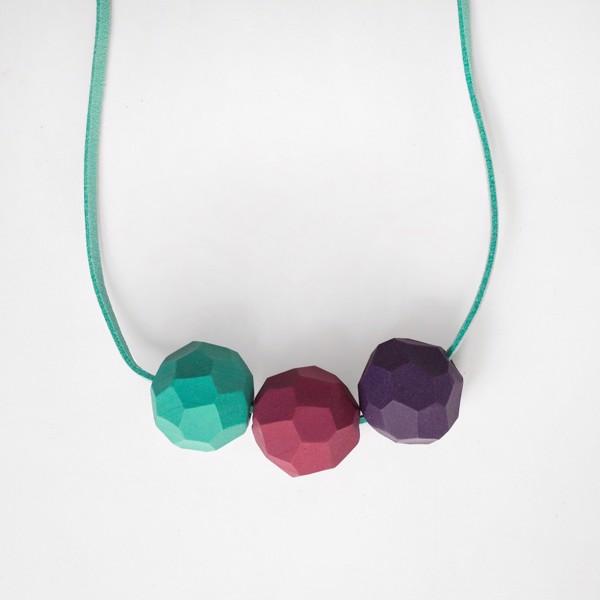 Picture of Mint berries Necklace 'Builder'