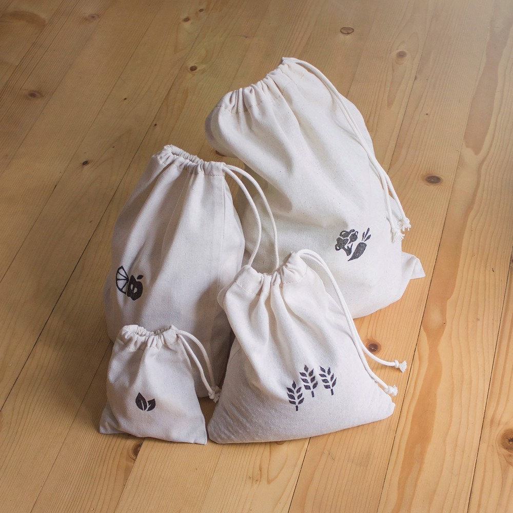 Picture of Cotton Storage Pouches Set