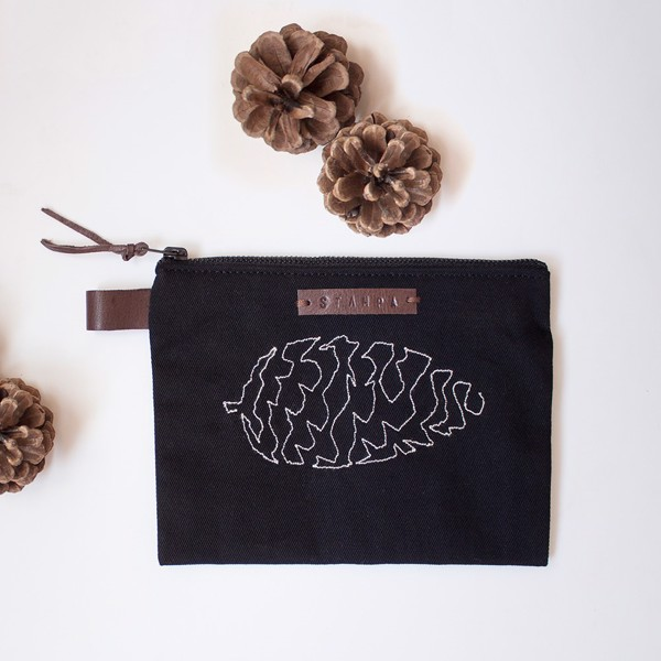 Picture of Pinecone Zipper Pouch