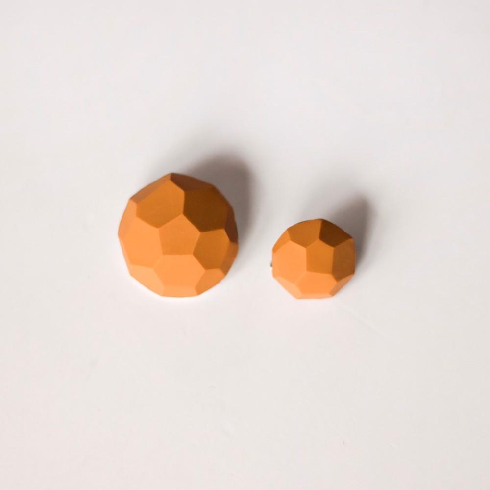 Снимка на Малък сет от брошки Mustard 'Stones'