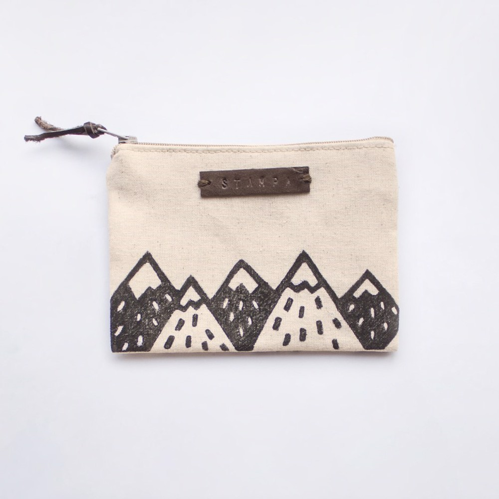 Picture of Small Mountains Zipper Pouch