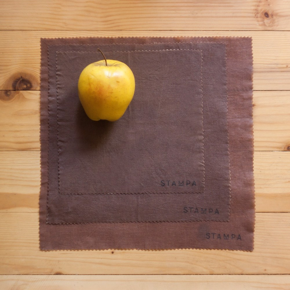 Picture of 3pcs Reusable Beeswax Food Wraps - Chocolate Set