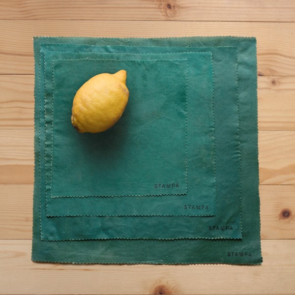 Picture of 4pcs Reusable Beeswax Food Wraps - Pine Set