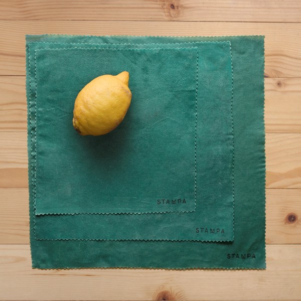Picture of 3pcs Reusable Beeswax Food Wraps - Pine Set