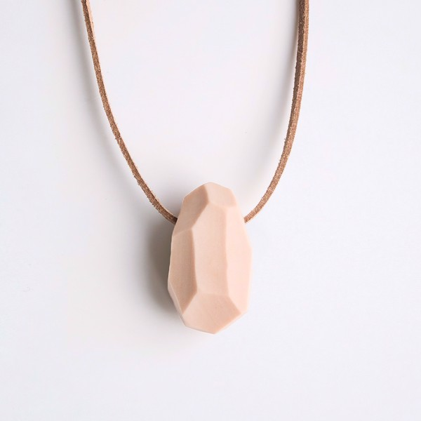 Picture of Cappuccino Necklace 'Stones'