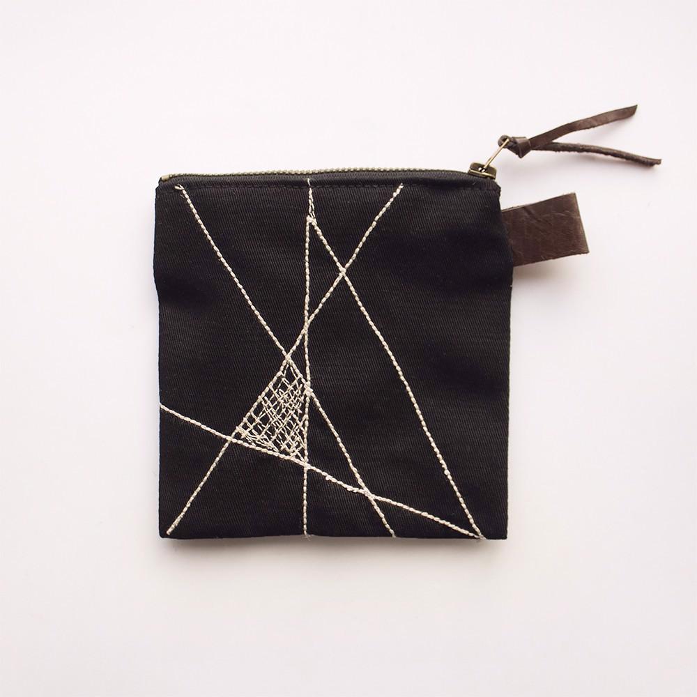 Снимка на Черен геометричен несесер