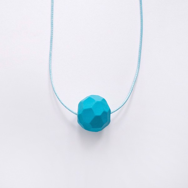 Picture of Small Turquoise Necklace 'Stones'