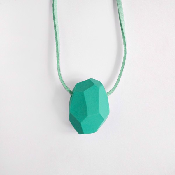 Picture of Mint Necklace 'Stones'