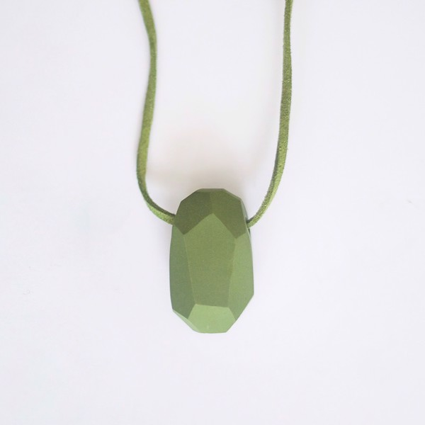 Picture of Pistachio Necklace 'Stones'