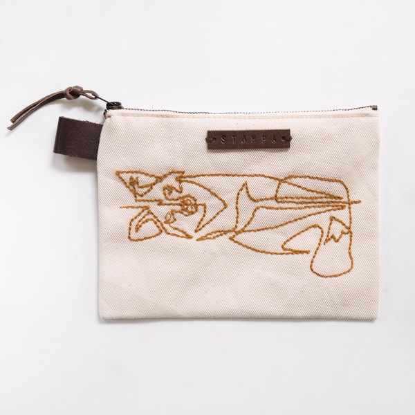 Picture of Foxy Zipper Pouch