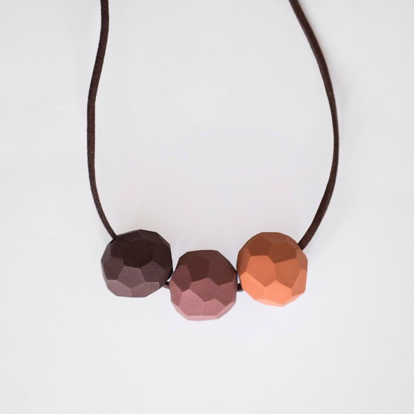 Picture of Papaya Necklace 'Builder'
