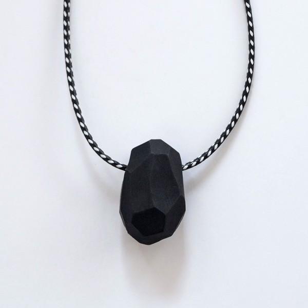 Picture of Zebra Necklace 'Stones'